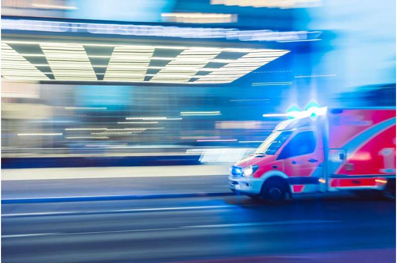 When chest pain hits, it's best to call an ambulance